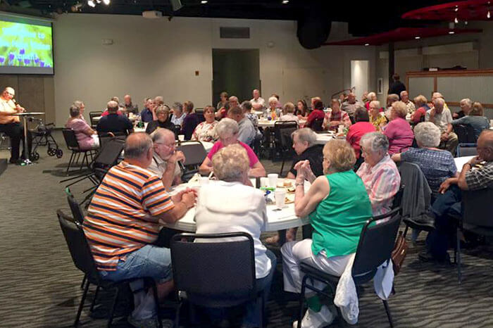 efb541bac7e New Vision. Our Senior Adults meet monthly for a time of Fellowship ...